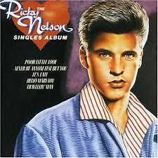 RICKY NELSON - THE SINGLES ALBUM  -  CD