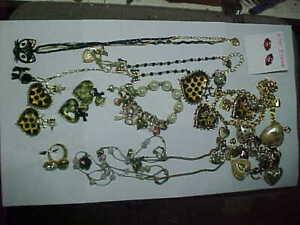Beautiful Betsey Johnson Jewelry lot