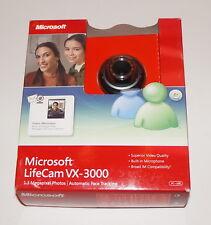 MICROSOFT LIFECAM VX-3000 USB 2.0 MIC 3X DIGITAL ZOOM 68A-00001 1076 NEW OPENBOX