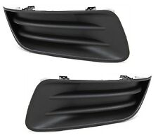 2003 2004 TOYOTA COROLLA FOG LAMP LIGHT COVER W/O HOLE PAIR RIGHT & LEFT SET 2PC