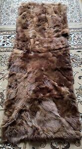 Fur fur Carpet Sheepskin Lambskin Runner Rug Seat Cover