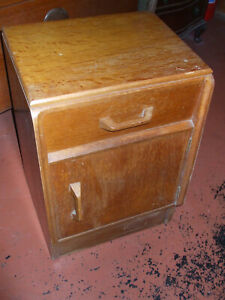 Vintage G Plan Brandon oak bedside cabinet, needs a polish, fast free delivery