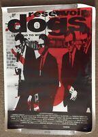 Reservoir Dogs 1991 Origial Movie Poster Rare Vintage Quentin Tarantino