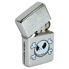 Nightmare Before Christmas Windproof Lighter. Jack Skellington Fliptop Gift