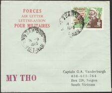 VIETNAM, 1973. Forces Air Letter ICCS, My Tho - Saigon