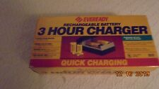 Eveready 3 Hour Rechargeable Battery Charger- Brand New Never Used~Model Qcc4-Pa