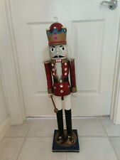 GIANT NUTCRACKER CHRISTMAS SOLDIER  ..2foot,10 inches...