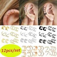 2x Climbing Man Naked Climber Ear Cuff Clip Upper Helix Cartilage Earring Hot DS