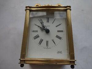 Quartz carriage clock