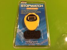 B1 New Ultrak 310 - Event Timer Sport Stopwatch - Worlds Easiest To Use Yellow