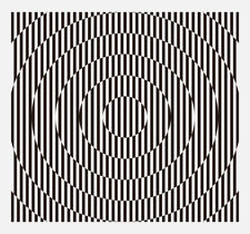 Joe Stoneman Waves print! (Geometric wall op art / Victor Vasarely genre)