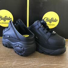 Buffalo London 1329-14 2.0 schwarz black CLOGS - NEU - grössen 36 bis 42