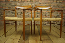 60er Vintage Teak Armrest Chair Danish Bramin Recliner H.W Small 1 From 2