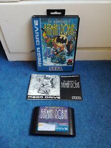 THE ADVENTURES OF BATMAN AND ROBIN - Sega Mega Drive- PAL - Complete