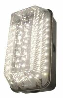 10W LED Outdoor Rectangular IP65 Bulkhead Security Wall Light Vandal Resistant