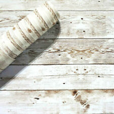 Rustic Wood Contact Paper Wallpaper Peel and Stick Self Adhesive Wallpaper