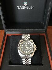 Vintage Tag Heuer 1000 Professional Ref: 980.006N Full Size Men's Watch & Box