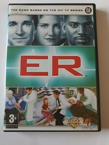 ER The Game PC DVD Computer Video Game UK Release excellent Condition