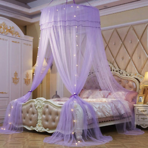 Mosquito Net Insect Bed Lace Netting Mesh Bedding Curtain Dome Canopy Free Ship