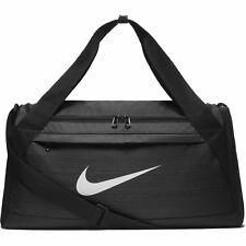 Nike Brasilia Duffel Bag Small Rush Pink/Black/White