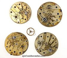 SWISS WATCH MOVEMENTS WITH CYLINDER ESCAPEMENTS X 3 PLUS 1 LEVER  - NUMBER 009