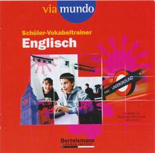 Englisch Lern CD Schüler Vokabeltrainer von Viamundo