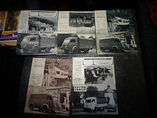 Anciens Documents Camion Renault Galion  1000 1400 2T 2.5T