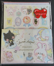 Kamio Japan Secret Animal Party Kawaii Letter Set stationery stickers