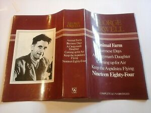 George Orwell Collection of 6 Complete Stories Large HB (BCA, 1981)
