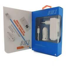 3in1 Dual USB Smart KFZ Ladegerät mit Kabel USB-Ladegerät f. Zigarettenanzünder