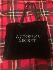 Victoria's Secret Bag Black Velvet New Tote Bag