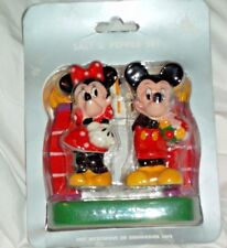 Disney Parks Salt Pepper Shakers Mickey Minnie At Disney Gate Arch New
