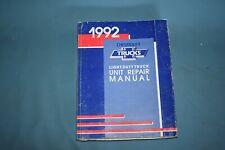 1992 Chevrolet GMC Light Duty Truck Unit Service Repair Manual Engine Inc/Diesel