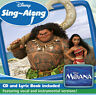 Moana Movie Disney Sing-along album CD NEW Gift IDEA NEW Lyric Book included