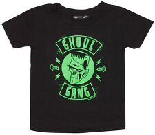 86348 Black & Green Ghoul Gang Shirt Shirt Sourpuss Retro Monster Bolts (2T)