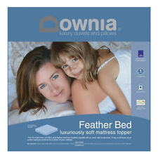 DOWNIA Quality Duck Feather and Down Pillowtop Mattress Topper DOUBLE BED Size