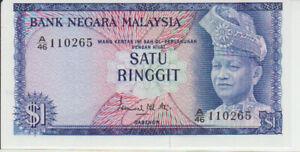 Malaysia 1 Ringgit (1967-72) Pick 1a XF