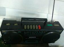 Vintage Magnavox Boombox Spatial Stereo Cassette Recorder D8057 Am/Fm Cassette