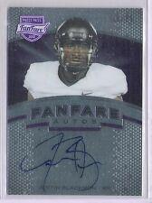 2012 Press Pass Fanfare Justin Blackmon Rookie Auto Autograph Card 18/25 Made