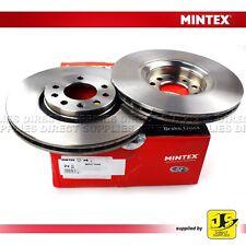 Nouveau Mintex Front Coated Ventilé Disques De Frein Lot Paire-MDC1608C