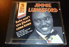 """JIMMIE LUNCEFORD """"Baby Won't You Please Come Home"""" CD 26-Tracks Made in EEC -VG-"""