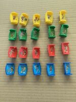 Vintage Dizzy Dizzy Dinosaur MB Games Spare Parts Full Set Of Movers