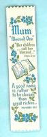 Christian Religious Gift Woven Bookmark Bible Verse Mum Mother Xmas Birthday Day