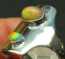 Welo Opal 3 Carat 925er Silberring Größe 19,4 mm