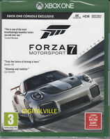 Forza Motorsport 7 Xbox One Brand New Factory Sealed Racing