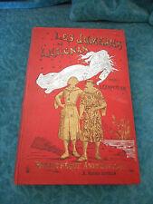 """Livre de prix  """"les jumeaux de Lusignan """" de Carpentier Ed. HATIER (XIX)"""