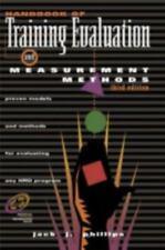 Handbook of Training Evaluation and Measurement Methods (Improving Human Perfor