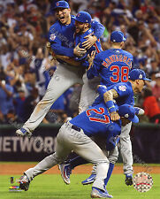 Chicago Cubs Celebrate Winning the 2016 World Series 8x10 Photo