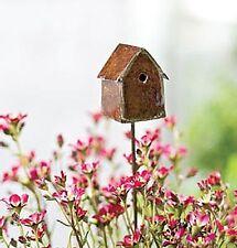 Miniature Fairy Garden Birdhouse Garden Pick Dollhouse Miniature NEW