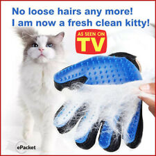 Pet Gloves Comb Mitt Grooming Hair Gentle Cleaning Efficient Massage For Dog Cat